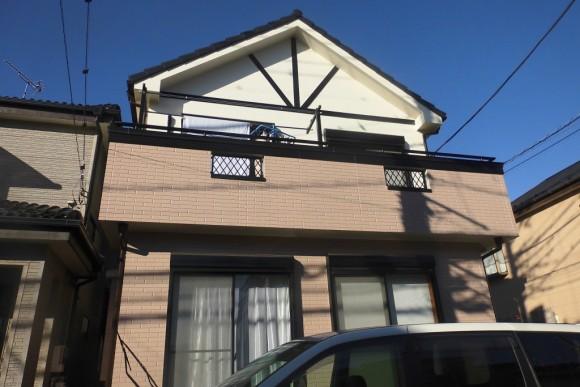 越谷市 U様邸 外壁・屋根塗装工事