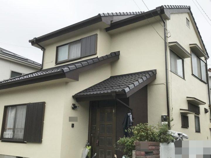 越谷市花田 K様邸 外壁塗装・屋根塗装リフォーム事例