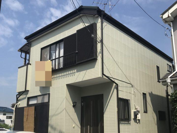 越谷市神明町 K様邸 外壁塗装・補修工事リフォーム