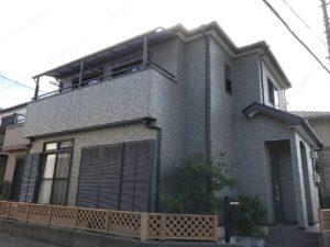 越谷市東大沢 K様邸 外壁クリヤー塗装・屋根塗装リフォーム