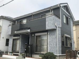 越谷市東大沢 N様邸 外壁塗装・屋根カバーリフォーム