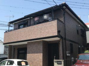 越谷市大沢 S様邸 外壁塗装・屋根補修リフォーム