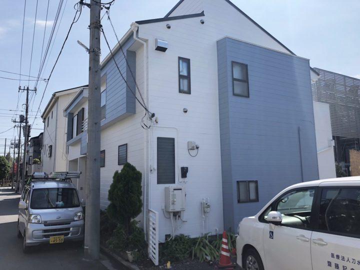 川口市並木 N様邸 外壁塗装・屋根カバーリフォーム
