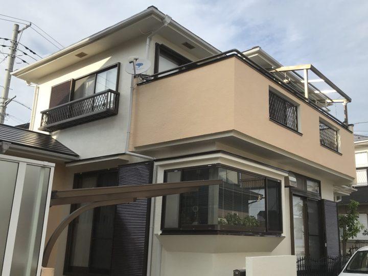越谷市神明町 O様邸 外壁塗装・屋根塗装リフォーム