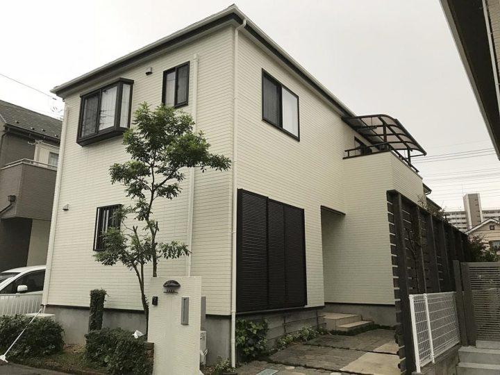 草加市谷塚 H様邸 外壁塗装・屋根塗装リフォーム