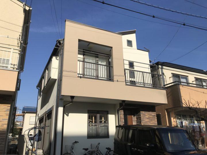 越谷市大房 K様邸 外壁塗装・屋根塗装リフォーム