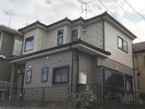春日部市藤塚 M様邸 外壁塗装リフォーム