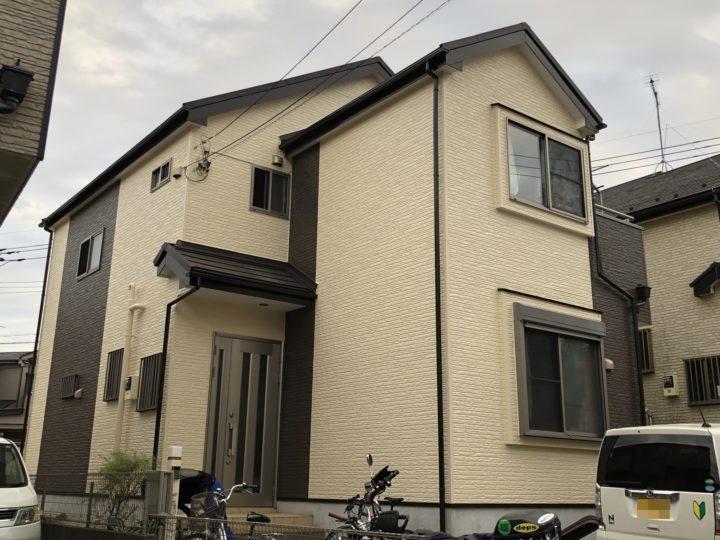 さいたま市岩槻区加倉 S様邸 外壁塗装・屋根重ね葺きリフォーム
