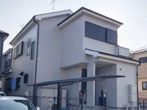 春日部市大場 M様邸 外壁塗装・屋根塗装リフォーム