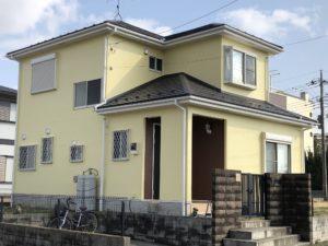 越谷市北川崎 K様邸 外壁塗装・屋根重ね葺きリフォーム