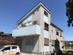 越谷市大泊 T様邸 外壁塗装・屋根重ね葺きリフォーム