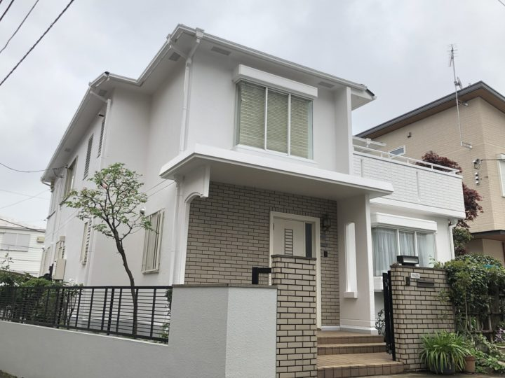 さいたま市浦和区 K様邸 外壁塗装・屋根塗装リフォーム