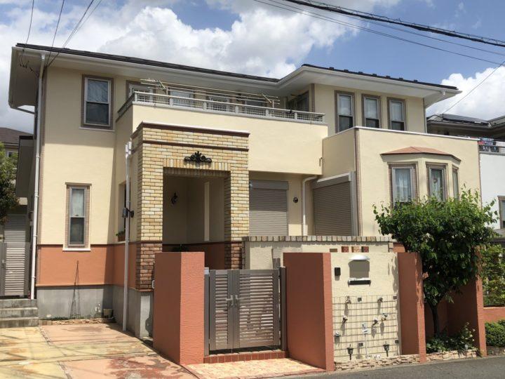 白岡市新白岡 Y様邸 外壁塗装・屋根重ね葺きリフォーム