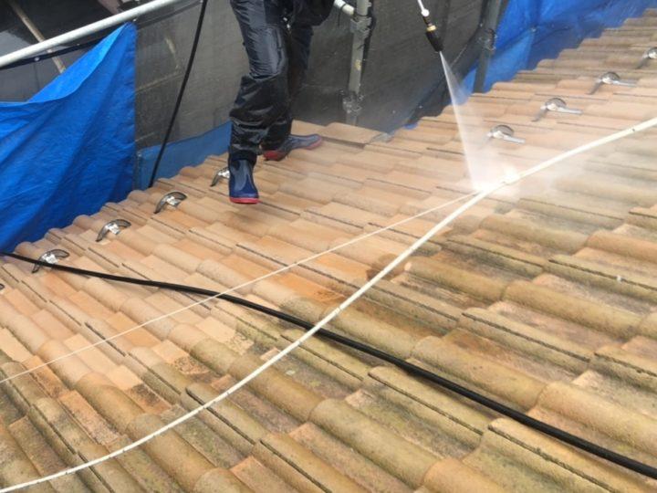 高圧洗浄・屋根補修・屋根塗装