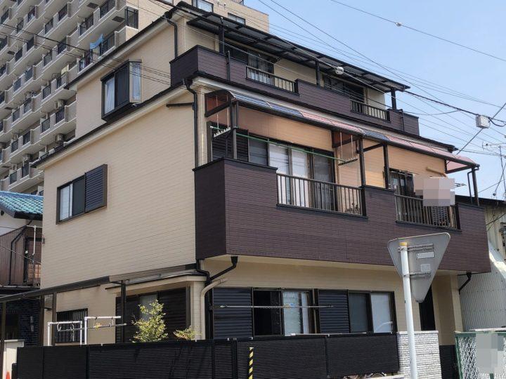 さいたま市・川口市・朝霞市・外壁塗装・屋根塗装・外壁改修