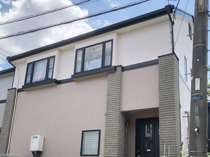 越谷市南荻島 U様邸 外壁塗装・屋根塗装リフォーム