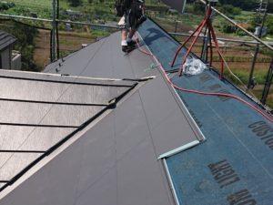 外壁塗装・屋根重ね葺き・越谷市