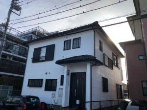 越谷市千間台 S様邸 外壁塗装リフォーム
