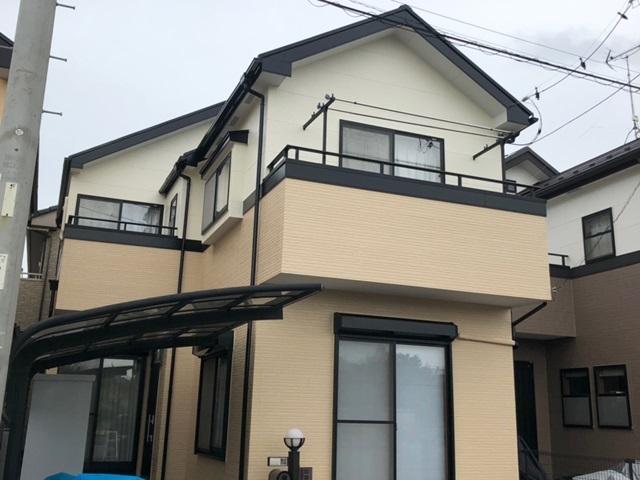 越谷市大里 A様邸 外壁塗装・屋根塗装リフォーム