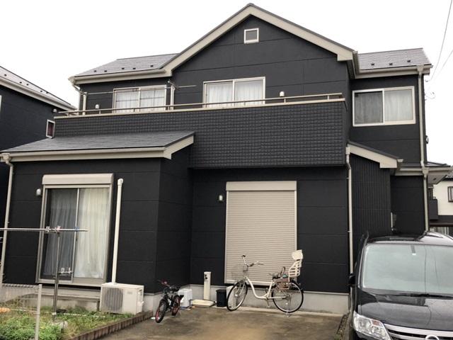 草加市青柳 K様邸 外壁塗装・屋根塗装リフォーム
