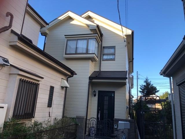 越谷市千間台西 K様邸 外壁塗装・屋根塗装リフォーム