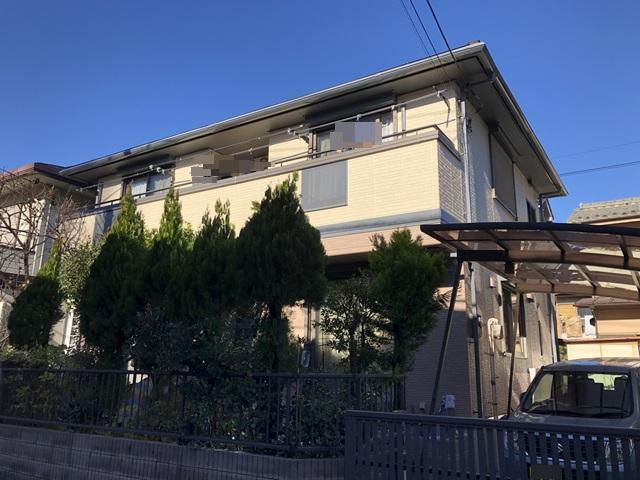 越谷市大房 O様邸 外壁塗装・屋根改修リフォーム