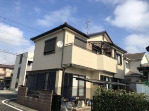 春日部市西金野井 N様邸 外壁塗装・屋根塗装リフォーム