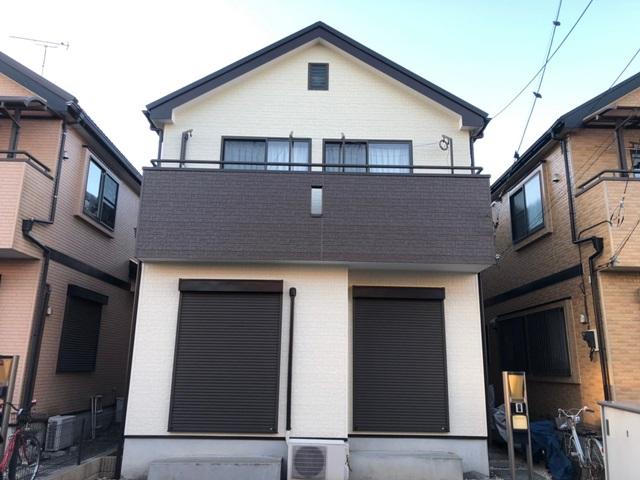 越谷市弥十郎 Y様邸 外壁塗装・屋根改修リフォーム