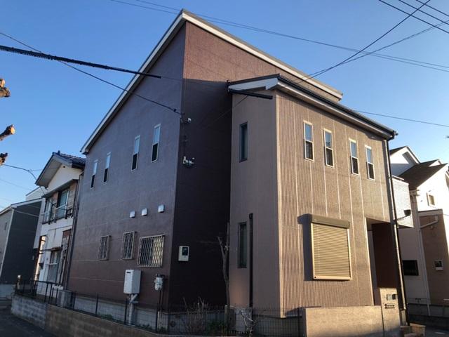 越谷市弥十郎 K様邸 外壁塗装・屋根改修リフォーム