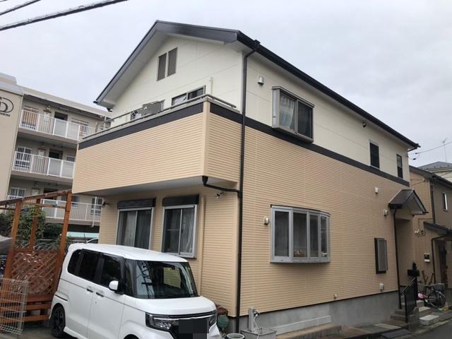 越谷市大沢 S様邸 外壁塗装・屋根塗装リフォーム