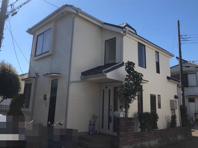 越谷市新明町 I様邸 外壁塗装・屋根改修リフォーム