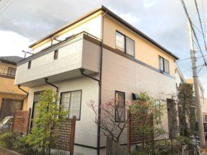 越谷市大房 T様邸 外壁塗装・屋根塗装リフォーム