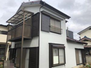 春日部市栄町 K様邸 外壁塗装・屋根塗装リフォーム