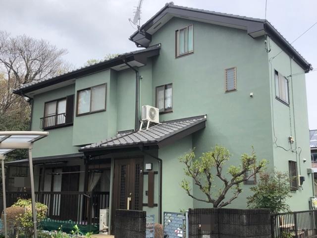 春日部市内牧 M様邸 外壁塗装リフォーム
