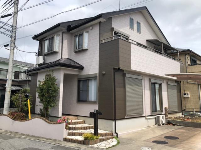 越谷市七左町 M様邸 外壁塗装・屋根塗装リフォーム