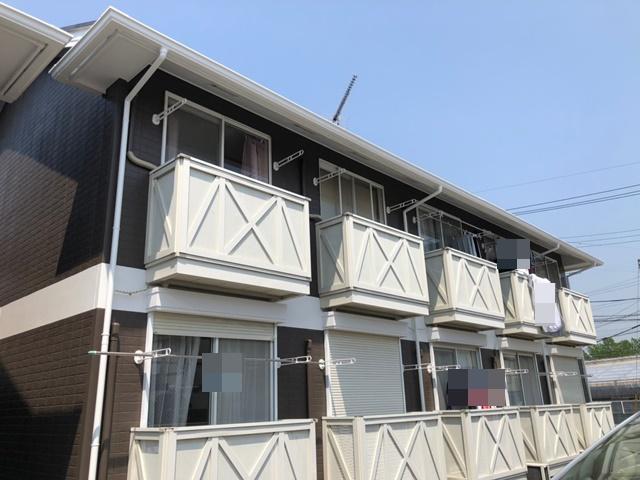 さいたま市岩槻区 M様アパート 外壁塗装・屋根塗装リフォーム
