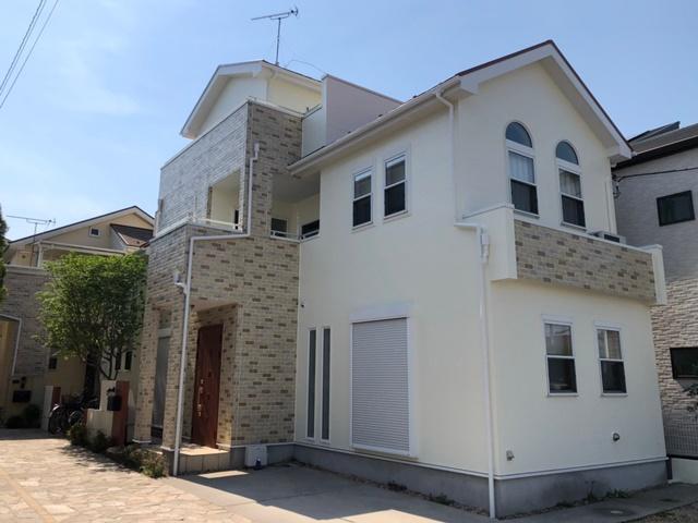 越谷市東越谷 S様邸 外壁塗装・屋根塗装リフォーム