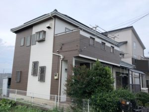 吉川市中曽根 T様邸 外壁塗装リフォーム