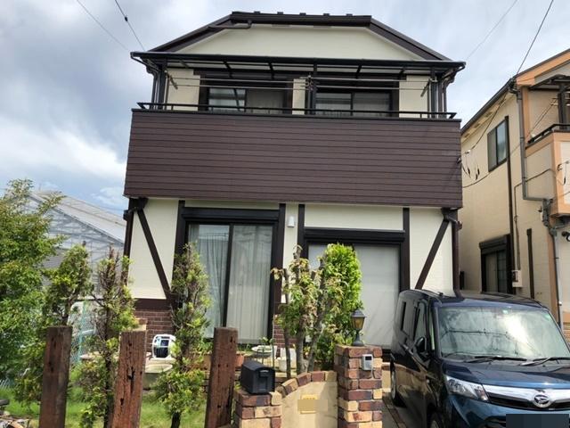 越谷市南荻島 M様邸 外壁塗装・屋根改修リフォーム