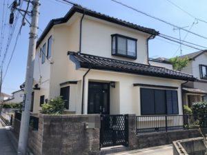 久喜市久喜東 I様邸 外壁塗装・屋根漆喰補修リフォーム
