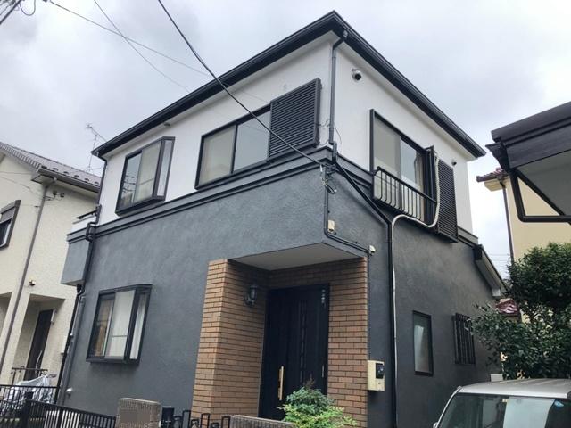 越谷市弥十郎 O様邸 外壁塗装・屋根塗装リフォーム