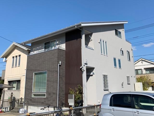 越谷市下間久里 N様邸 外壁塗装リフォーム