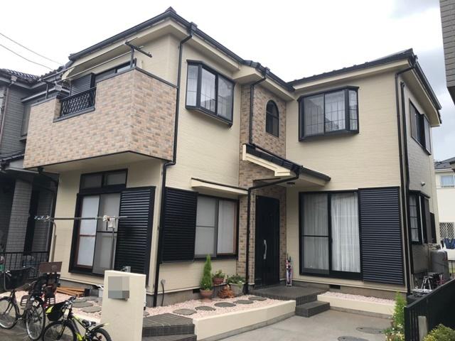 野田市尾崎 N様邸 屋根塗装・外壁カバーリフォーム
