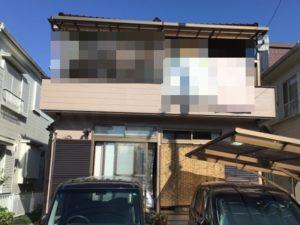 越谷市南荻島 H様邸 外壁塗装リフォーム