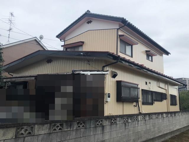 春日部市樋籠 A様邸 外壁塗装リフォーム