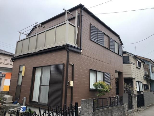 越谷市上間久里 S様邸 外壁塗装・屋根塗装リフォーム