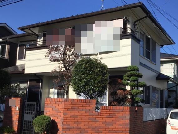 春日部市栄町 O様邸 外壁塗装・屋根塗装リフォーム