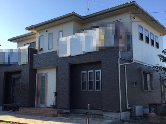 春日部市西宝珠花 N様邸 外壁塗装リフォーム