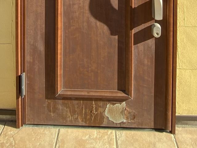 越谷市・外壁塗装・玄関ドア