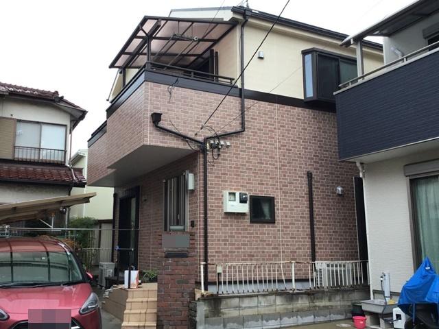 越谷市花田 K様邸 外壁塗装・屋根塗装リフォーム